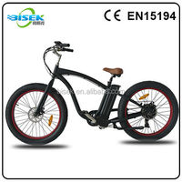 high performance electric beach cruiser bicycle