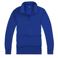 women plain long sleeve shirt navy blue formal,polo shirt