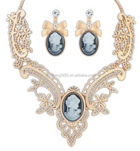The latest decorated with alloy charm of bead necklace