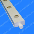 100 x 50 mm hidropónico PVC NFT canal