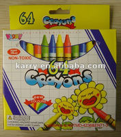 HUGE Assortment of 64colors pencil crayons