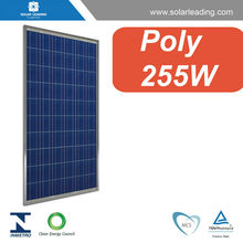 255w poly pv solar panel with solar power cell for solar power plants