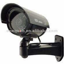 hot design fake cctv camera system with LED light of working as real camera