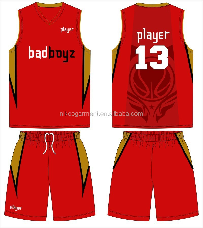 Promotional Reversible Basketball Jersey Color Red, Buy Reversible,ZRYUUFD220,red color reversible basketball jerseys with numbers and logs can be customized