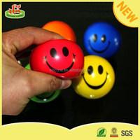 Direct factory pu ball smiley pu stress ball