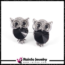 Accesorios de estilo europeo Night Owl Stud Earring 3 colores