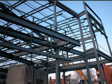 Pre engineering Prefabricated light steel structure building
