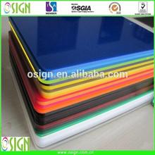 Plexi glass sheet / advertising board / Acrylic plastic board