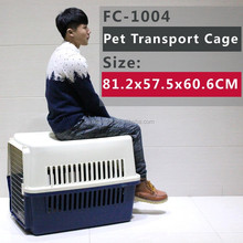 For dogs up to 30kg(66 pounds) pet airport flight crate
