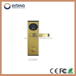 fashion design swipe card lock electronic hotel lock