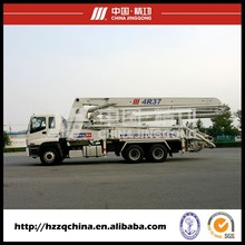 Export to Myanmar ISUZU 37m Truck-mounted Concrete Pump Truck