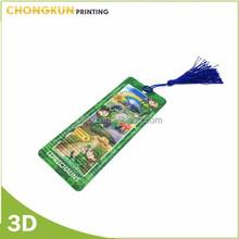 Creative Bookmark, plastic bookmark, ecofriendly lenticular 3D bookmark