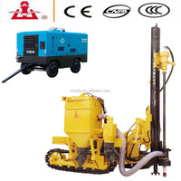 Mine manufacturing machine/air compressor for mining with wheels