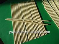 Disposable round bamboo chopsticks wooden chopsticks in EU market