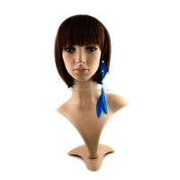 New Arrival natural chain feather headband/hair band/hair hoop