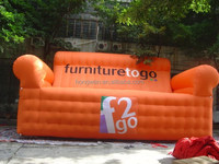 outdoor inflatable advertising product giant inflatable sofa bed