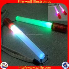 wholesale party supplies glow lollipop stick for event / small glow in the dark stick / custom logo led light up glow sticks