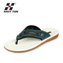 Summer cool leather sandals beach walk men's sandals