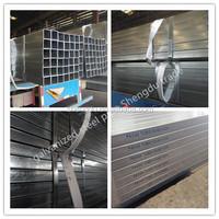 green house use Q195/Q235 pregalvanized rectangula tube China hot sale