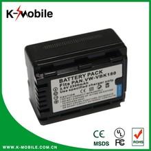 3.6V 2300mah digital camcorder battery pack VBK180 for panasonic