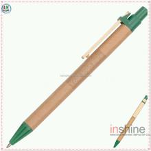 Advertising eco friendly recycled paper barrel ball pen , paper pen , cheap pen