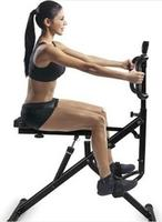 NEW Gym equipment rider total body crunch with body fat scan function