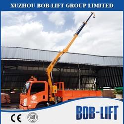 3 Ton mini truck mounted crane manufacturer for sale