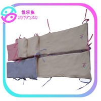 Cute cotton padded baby crib bumper pads