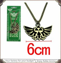 The Legend of Zelda Symbol Logo Metal Necklace with two color