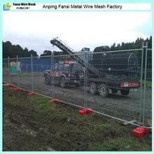 HDPE plastic blow welded panels garden mobile fence
