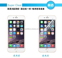 Latest product !! 100% Prefect fit 3 Layer PET material liquid HD clear mobile phone screen protector for iphone 6