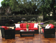 Miami synthetic rattan furniture cheap