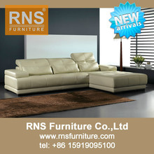 RNS New Leather Sofa Design 6025A