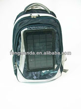 2200MAH Portable Solar Charger Bag with Clips