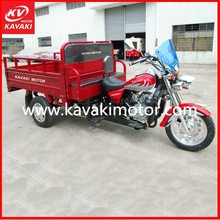 Factory Direct Wholesale China 3 Wheel Petrol Motorc / 250cc Motorized Big Wheel Trike / Three Wheel Motor Cargo Tricycle