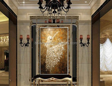 """100% hand-painted oil painting abstract art wall palette knife """"ballet"""" contemporary household adornment picture"""