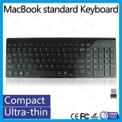 Chocolate Design Multimedia 2.4Ghz Ultra-thin Silent Wireless Keyboard