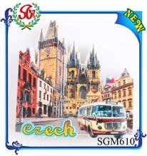 SGM610 Czech snow man fridge mangnet, magnets touristic