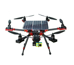 Professional Solar Hexacopter RC Helicopter With Lipo Battery ONBO Power 16000mAh 6S 20C/40C