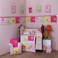 Little kids 100% cotton baby quilt comforter set