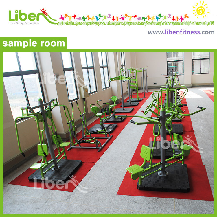 Outdoor Amusement Fitness Gym Equipment showroom
