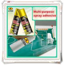 Autokem 400ml hotsale multi-purpose spray adhesive, water-based adhesive spray, adhesive glue spray for laminate/clothing/fabric