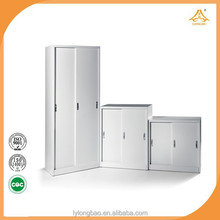 Metal sliding cabinets steel cupboard export products of singapore dubai home furniture