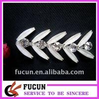 pattern rhinestone cup chain