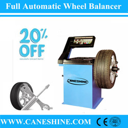 CE Certificate Cheapest Price Caneshine Full Automatic Computer Wheel Balancer/Car Balancer with Motorcycle Adaptor-CS-332B