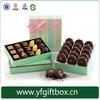 Recycled paper cardboard macaron box high quality handmade colourful printed cardboard macaron paper cake box