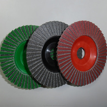 KGS Convenient and functional diamond abrasive flap disc hand sanding and scouring grinder stone