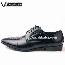 Zapato de vestir de cuero genuino para hombre