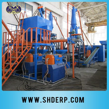 Rubber tire recycling machine on sale