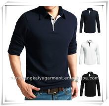 OEM fashion popular blank polo tshirts